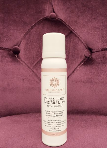 Face & Body Mineral SPF